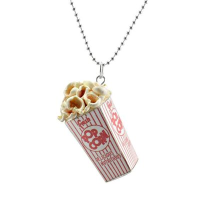 Decadent Minis -Scented -Popcorn -Charm -Necklace