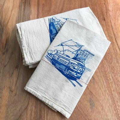 Flour Sack Dish Towel from The Heated Shop Local - Bay Area - San Francisco - WeAreInCommons - CivicCenter