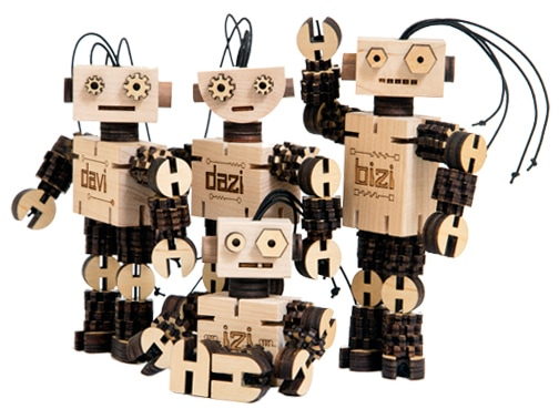 BizBots, SFetsy, Robots, Wooden Toys, Eco Friendly, Earth Day, Eco, Green Biz