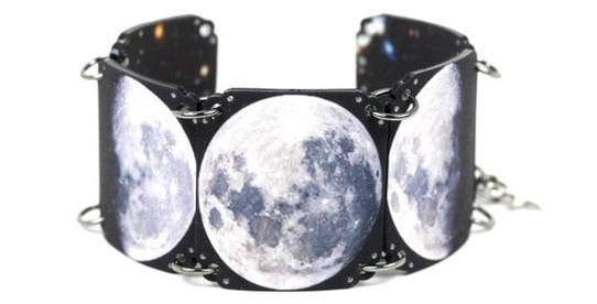 Space- Universe Moon - Moon Phase -Bracelet - Mamas Little Babies