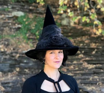 Halloween - Witch - Costume - Wicca - Hat - Mermaiden Creations