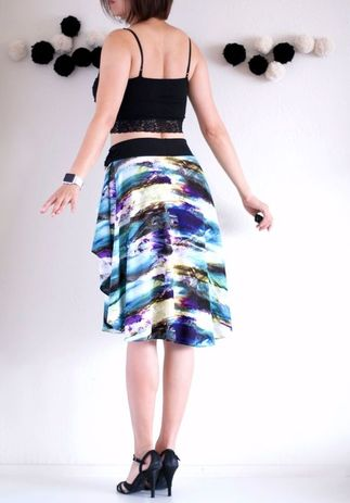 Zoe's Lollipop - High Waisted Skirt - SFetsy - EtsyLocal - Indie Holiday Emporium - Bay Area - Fashion