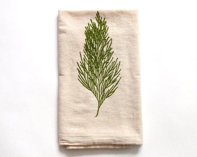 The Heated - Linen Tea Towels- sfetsy - tea - coffee - kitchen - foodie civic center commons - we are in common - craft show