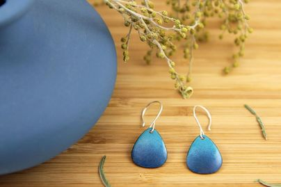 Iris Willow - Earrings - SFetsy - Indie Holiday Emporium - Shop Small - Etsy Local