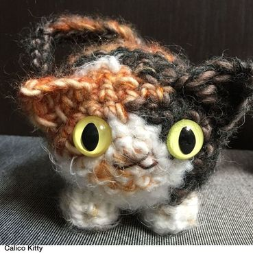 Dorklandia - Crocheted Kitty - Sfetsy - etsylocal - shopsmall