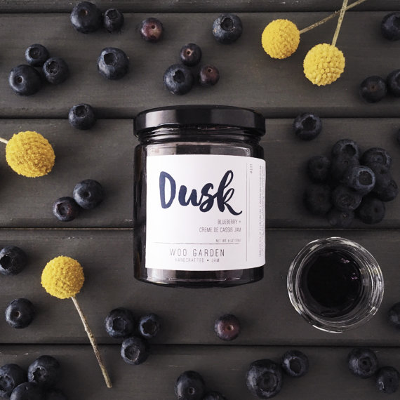 Jelly - Edibles - Food - Foodie - Dusk - Blueberry  - Creme de Cassis Jam- Woo Garden